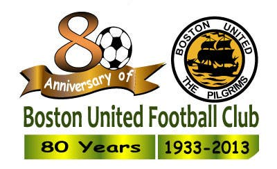 Proposition n°22 du concours Design a Logo for Boston United Football Club's 80th Anniversary