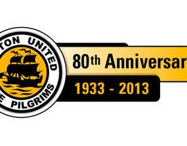 nº 38 pour Design a Logo for Boston United Football Club's 80th Anniversary par juanpa11