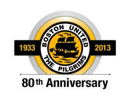 #40 for Design a Logo for Boston United Football Club's 80th Anniversary af juanpa11