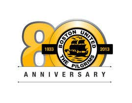 #50 for Design a Logo for Boston United Football Club's 80th Anniversary af juanpa11
