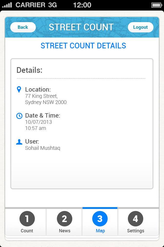 Inscrição nº                                         6                                      do Concurso para                                         Design an App Mockup for Homeless Tracking Mobile App