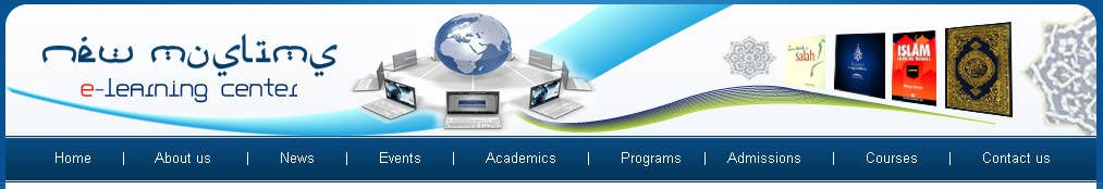 Banner Design Contest Entry #43 for Header design for our new eLearning site