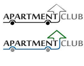 nº 32 pour Design a Logo for Apartment Club par tushar1404