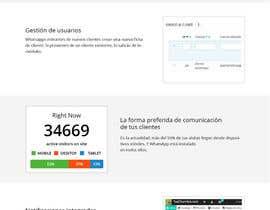 Nro 5 kilpailuun Design a Wordpress Mockup käyttäjältä Bkmraj