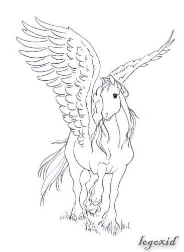 Kilpailutyö #3 kilpailussa Draw a Pegasus
