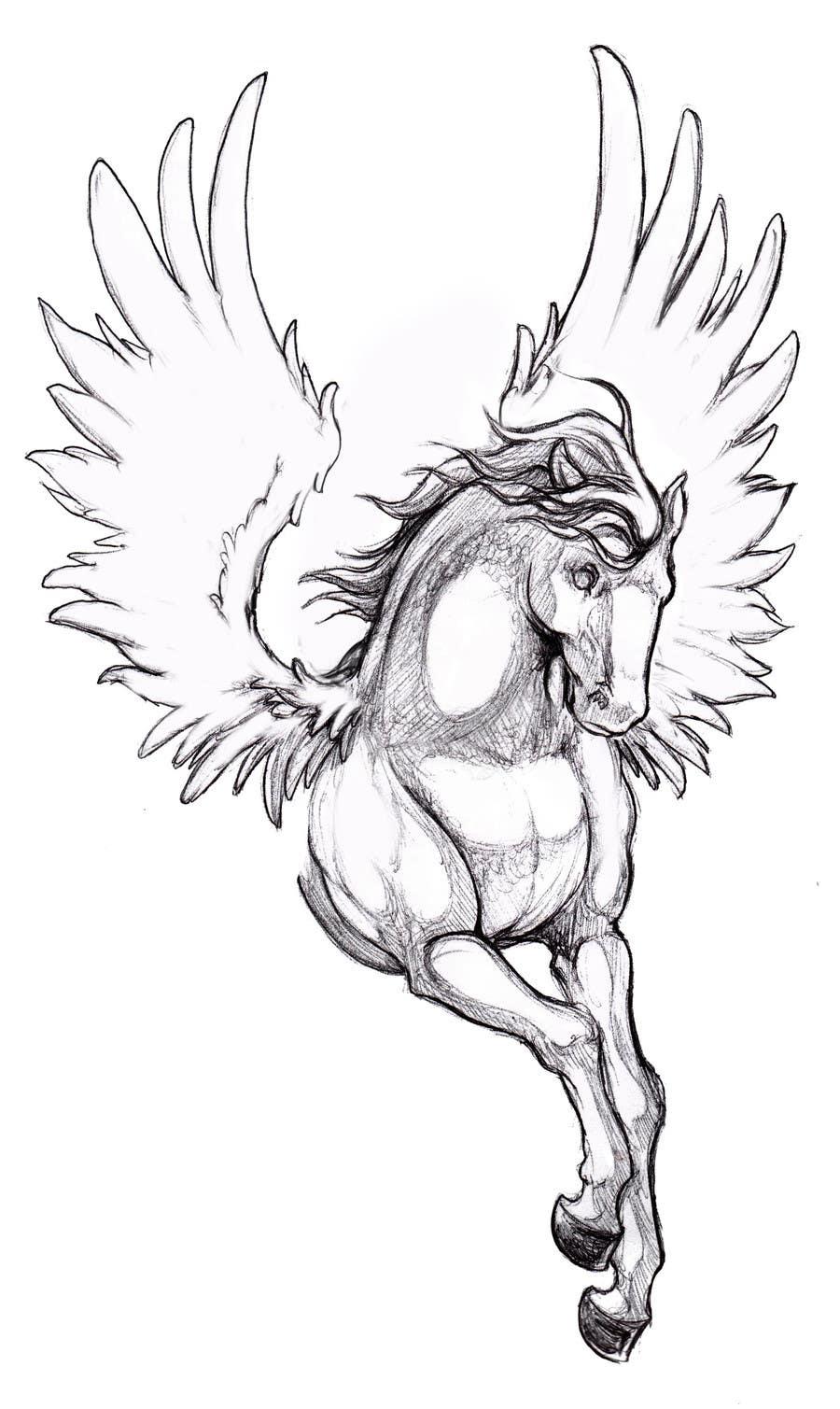 Kilpailutyö #14 kilpailussa Draw a Pegasus