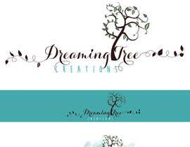 #26 for Logo Design- Handmade Artisan Jewelry brand- Dreaming Tree Creations, natural look by sandrasreckovic