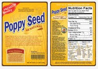 Contest Entry #5 for Create Print and Packaging Designs for a Pack of Poppy Seeds