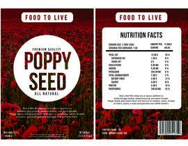 #12 para Create Print and Packaging Designs for a Pack of Poppy Seeds por mikezipper23