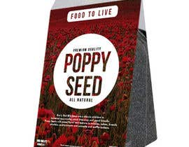 nº 14 pour Create Print and Packaging Designs for a Pack of Poppy Seeds par mikezipper23