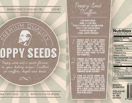 nº 6 pour Create Print and Packaging Designs for a Pack of Poppy Seeds par notreallysarah