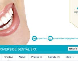 #20 untuk Design some Business Cards, Stationary and facebook banner/profile picture for Riverside Dental Spa oleh danapopa88