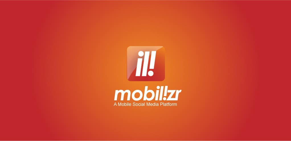 #131 for Logo Design for Mobilizr - A Mobile Social Media Platform by robertussidharta