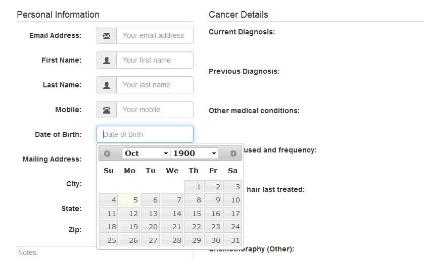 Entry #1 by rockeinstone for EASY: Fix jQuery datepicker UI