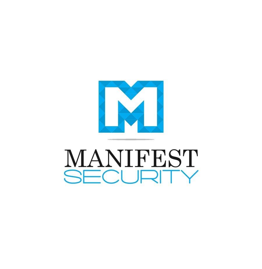 """Inscrição nº 12 do Concurso para """"Manifest Security"""" Logo"""