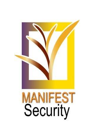 """Inscrição nº 83 do Concurso para """"Manifest Security"""" Logo"""