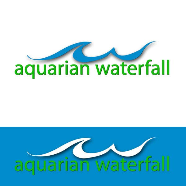 #44 for Design a Logo for Aquarian Waterfall by ely0313