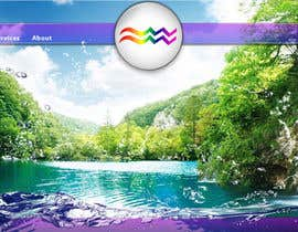 sanart tarafından Design a Website Mockup for Aquarian Waterfall için no 26