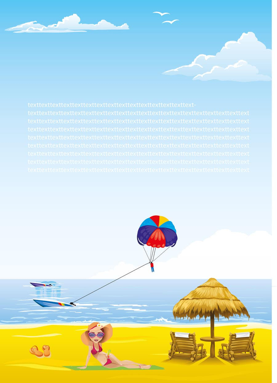 #9 for Design summer poster in EPS format by jubilantdesigner