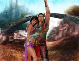 #53 for Fantasy Novel Coverpage Illustration af TorresIngles