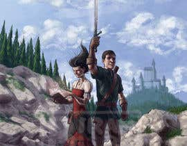 #32 para Fantasy Novel Coverpage Illustration por Biram