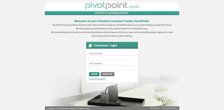 #23 for Design a Website Mockup for revitalization of our B2B customer resource by tania06