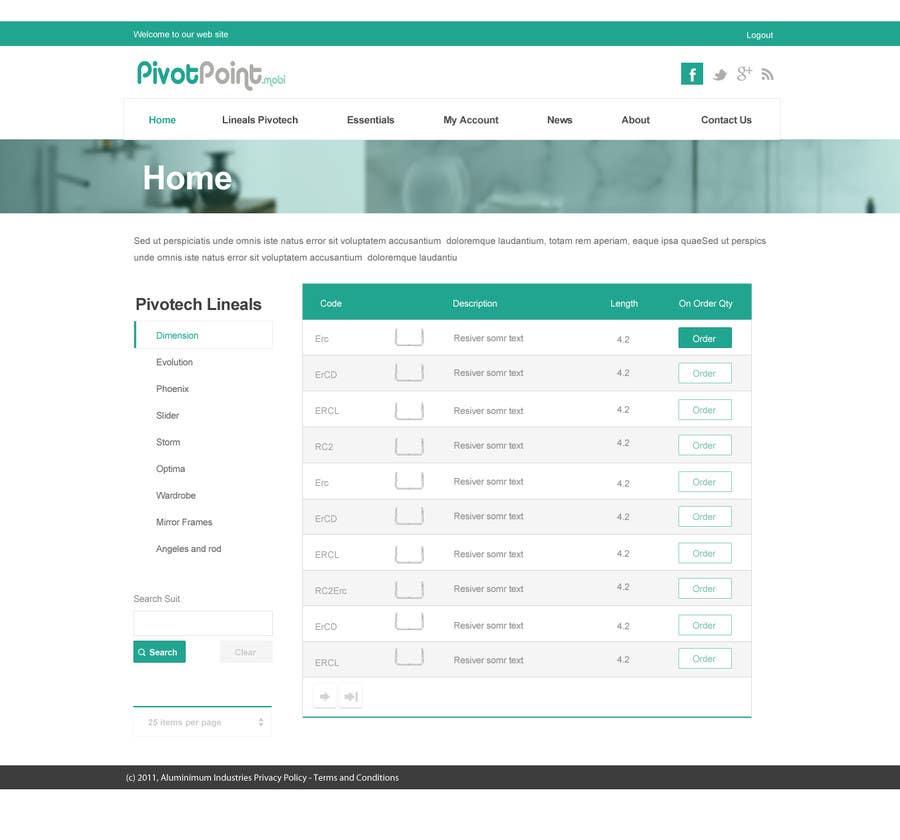 #38 for Design a Website Mockup for revitalization of our B2B customer resource by SadunKodagoda