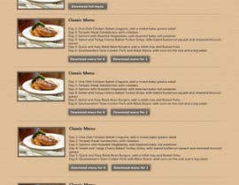 riopratama tarafından Design a Website Mockup for our Premium Menu-Mailer website. için no 18
