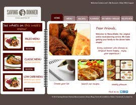 #23 para Design a Website Mockup for our Premium Menu-Mailer website. por HBPC