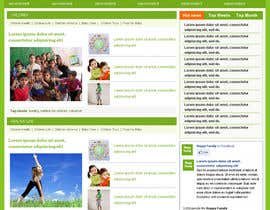 #10 dla Website Design for Happy Family e-zine przez tuanrobo