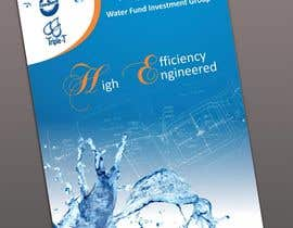 #102 para Folder Graphic Design for Water Technology Exhibition por BenettAdv