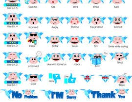 #6 for Design stickers for Freelancer chat [Multiple Winners] by rr85099