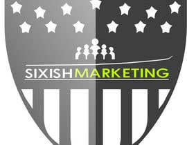 #37 para Logo Design for SIXISH Marketing por Junaid02