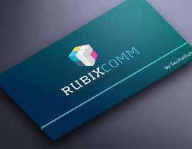 nº 10 pour Design logo Rubix Comm par souhailium