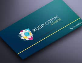 nº 16 pour Design logo Rubix Comm par souhailium