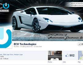 #21 for Design a Facebook landing page for ECU Technologies af RockStar95