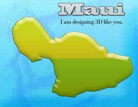 #3 cho I need some Graphic Design for maui map bởi sanart