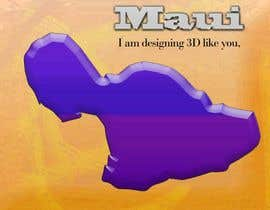 #8 cho I need some Graphic Design for maui map bởi sanart