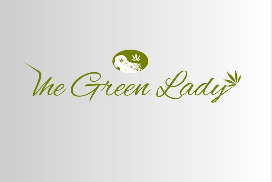#176 for Design a Logo for thegreenlady.org by dukom