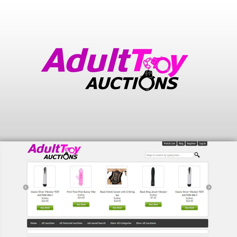 #31 for Adult Toy Auctions new Logo by theartisticflow