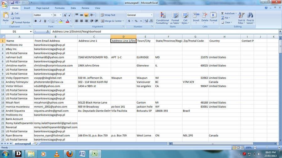 Penyertaan Peraduan #9 untuk List contacts for forex trader