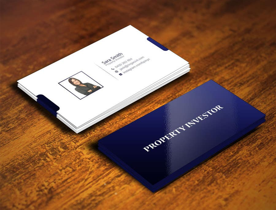 Entry #47 by gohardecent for Personal Business Cards - design for a ...