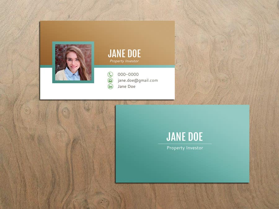 Entry 52 By OlgaRadzikh For Personal Business Cards Design For A