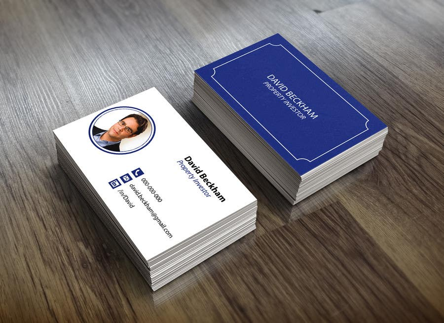 entry 43 by vavika for personal business cards design for a