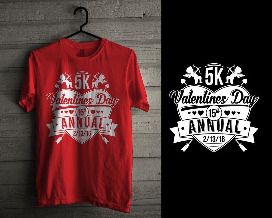 Entry 29 By Iddur For Design A T Shirt For Valentines Day 5k