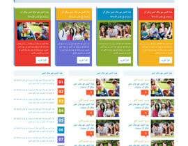 Nro 8 kilpailuun I need a WordPress design with Arabic language content RTL and computability. käyttäjältä q7r000007