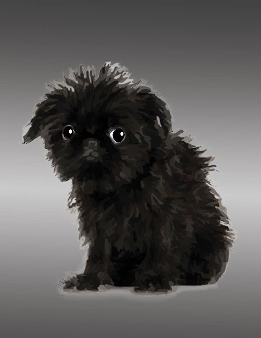 #16 for Affenpinscher dog converted to Pop Art by rahulraag
