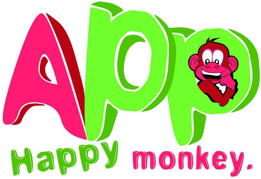 #178 for Design eines Logos for Company Happy Monkey by nirdesh1988