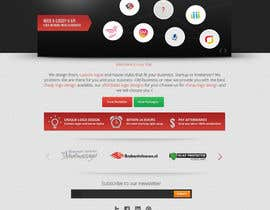#10 para Creëer een Wordpress Template for logo design company por Pavithranmm