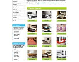 #33 pentru Website Design for The Bed Shop (Online Furniture Retailer) de către tania06